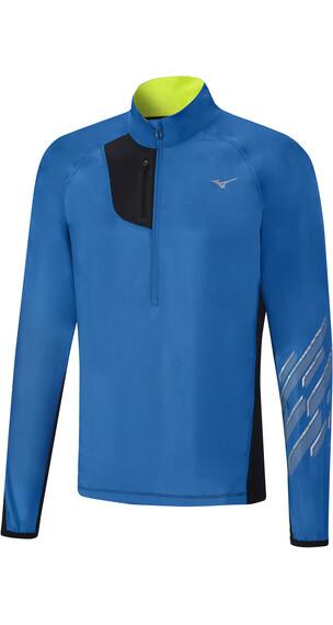 Mizuno Static BT Windtop Jacket Men Directoire Blue/Black